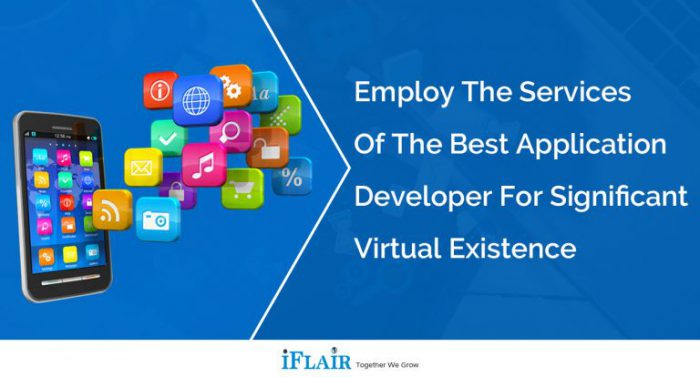 Employ the Services of the Best Application Developer for Significant Virtual Existence