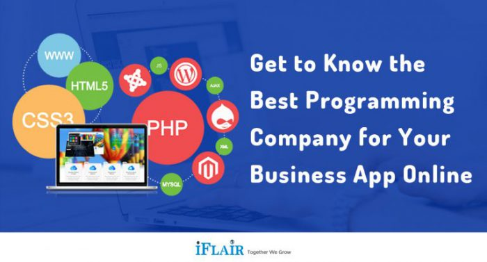 Get To Know the Best Programming Company for Your Business App Online