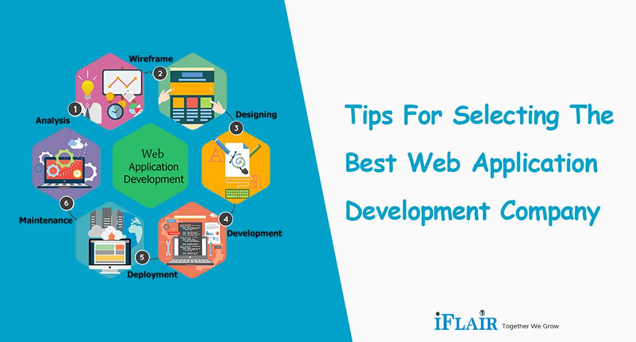 Tips for Selecting the Best Web Application Development Company
